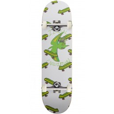 Illegal Civilization Green Dino Skateboard Complete - 8.25