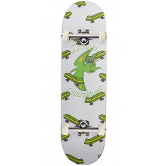 Illegal Civilization Green Dino Skateboard Complete - 8.5