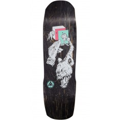 Welcome Face of a Lover on Totem Skateboard Deck - Black Stain - 8.8