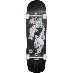 Welcome Face of a Lover on Totem Skateboard Complete - Black Stain - 8.8