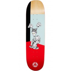 Welcome Hedo Rick on Moontrimmer 2.0 Skateboard Deck - Red - 8.5