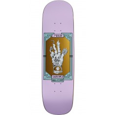 Welcome Philosophers Hand on Nibiru Skateboard Deck - Jordan Sanchez - Lilac - 8.75