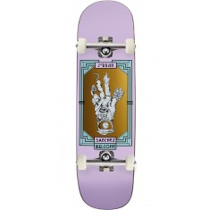 Welcome Philosophers Hand on Nibiru Skateboard Complete - Jordan Sanchez - Lilac - 8.75