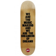 Hopps We Are The Music Skateboard Deck - Black - 8.50""