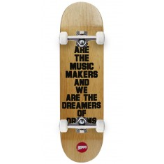 Hopps We Are The Music Skateboard Complete - Black - 8.50""