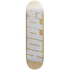 Hopps Bighopps Skateboard Deck - White/Natural - 8.00""