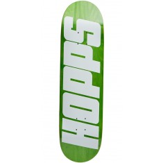 Hopps Bighopps Skateboard Deck - White/Green - 8.375""