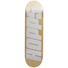 Hopps Bighopps Skateboard Deck - White/Natural - 8.50""
