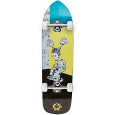 Welcome Hedo Rick on Soul Splitter Skateboard Complete - Yellow - 8.75