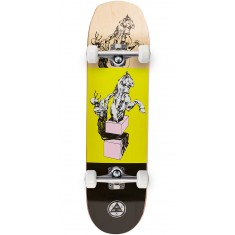 Welcome Hierophant on Helm Of Awe Skateboard Complete - Yellow - 8.38