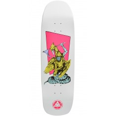 Welcome Twenty Eyes on Golem Skateboard Deck - White Dip - 9.25