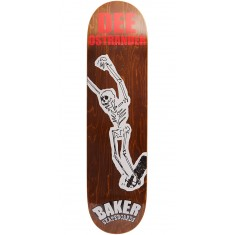 Baker From The Grave Skateboard Deck - Ostrander - 8.00