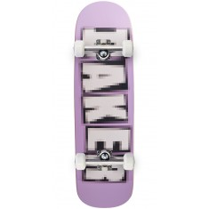 Baker Pixelated Shaped Skateboard Complete - 9.00
