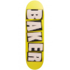 Baker Brand Name Pixelated Skateboard Deck - Theotis Beasley - 8.25