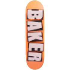 Baker Brand Name Pixelated Skateboard Deck - Bryan Herman - 8.475