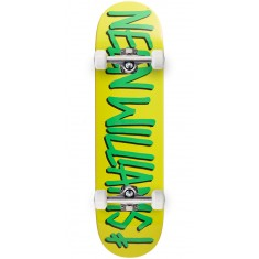 Deathwish Gang Name Skateboard Complete - Neen Williams - Yellow/Green - 8.25