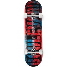 Boulevard Danny Split Skateboard Complete - Red/Blue - 8.50""
