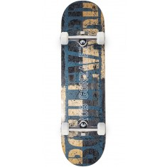 Boulevard Rob Split Skateboard Complete - Black/Raw - 8.25""