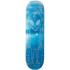 Alien Workshop Blueprint 2.0 Hexmark Skateboard Deck - 8.25""