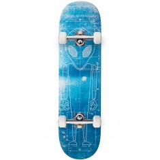 Alien Workshop Blueprint 2.0 Hexmark Skateboard Complete - 8.25""
