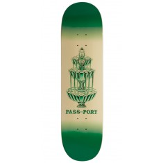 Passport Fountains For Life Panthera Leo Skateboard Deck - 8.25""