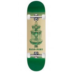 """Passport Fountains For Life Panthera Leo Skateboard Complete - 8.25"""""""