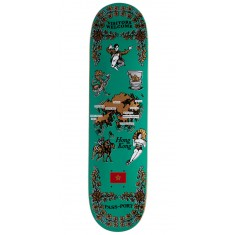 Passport International Tea Towels Hong Kong Skateboard Deck - 7.875""