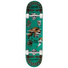 Passport International Tea Towels Hong Kong Skateboard Complete - 7.875""