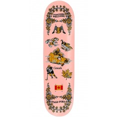 Passport International Tea Towels Canada Skateboard Deck - 8.125""