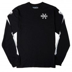 Bones Crossbones Long Sleeve T-Shirt - Black
