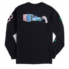 Pyramid Country Where I End Long Sleeve T-Shirt - Black/Paint