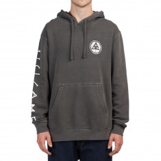 Welcome Tali-Scrawl Pigment Dyed Hoodie - Pigment Black/White