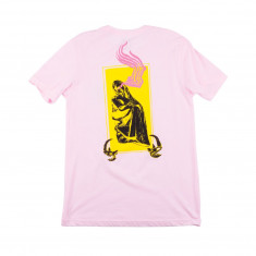 Welcome Statue T-Shirt - Pink