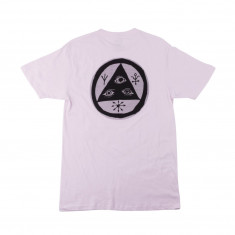 Welcome Halftone Talisman T-Shirt - Lilac