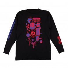 Welcome Chaos Long Sleeve T-Shirt - Black