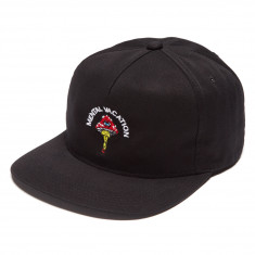 No Hours Mental Vacay Hat - Black