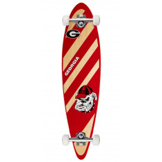 University of Georgia Trading Card Pintail Longboard Complete