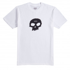 Zero Single Skull T-Shirt - White