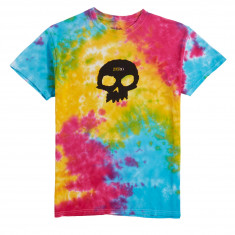 Zero Single Skull T-Shirt - Rainbow
