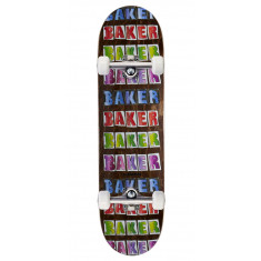 Baker T-Funk Colored Pencil Skateboard Complete - 8.25""