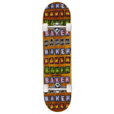 Baker Spanky Colored Pencil Skateboard Complete - 8.00""