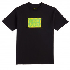 Shake Junt Printed Box Logo T-Shirt - Black