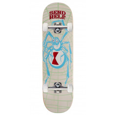 Send Help White Widow Skateboard Complete - 8.50""