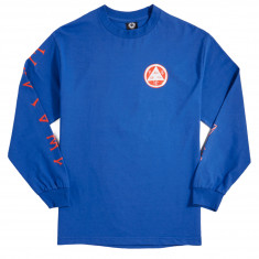 Welcome Maned Woof Long Sleeve T-Shirt - Royal/Red/White