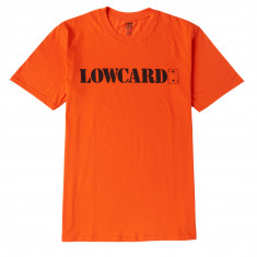 Lowcard Orange Standard T-Shirt - Orange