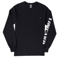 Lowcard The Pocket Long Sleeve T-Shirt - Black