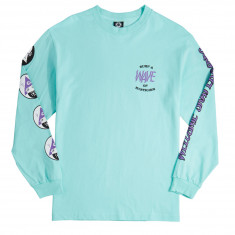 Welcome Waves Long Sleeve T-Shirt - Teal