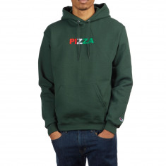 Pizza Tri Color Hoodie - Green