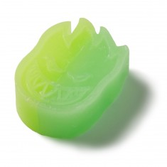 Spitfire Swirl Curb Wax - Green/Yellow
