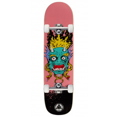 Welcome Old Nick on Bunyip Skateboard Complete - Pink - 8.0""